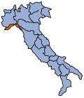 イタリアリグーリア州