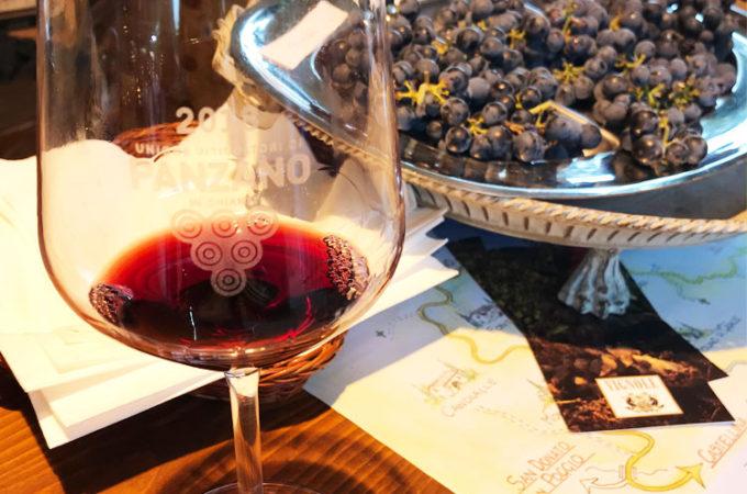 パンツァーノ・イン・キャンティのワイン祭りに行ってきました