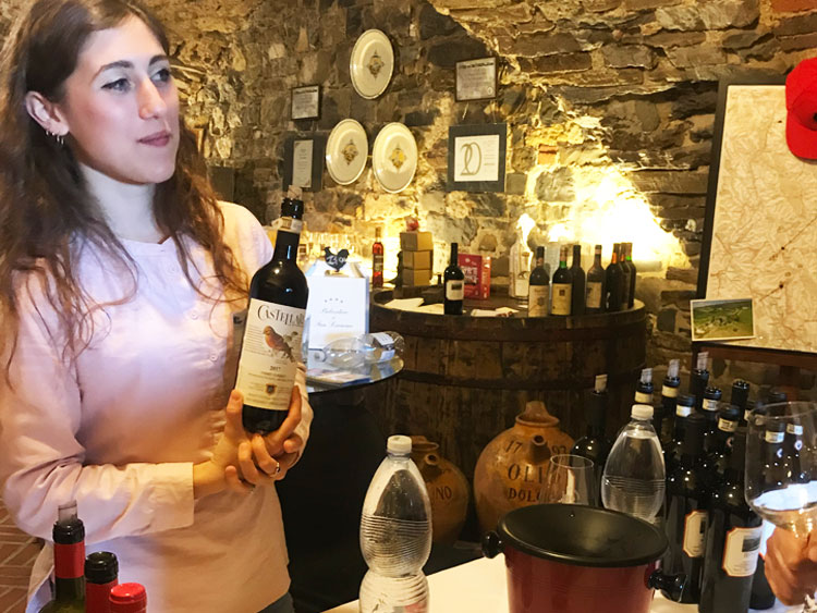 カステッラーレのワイン祭り