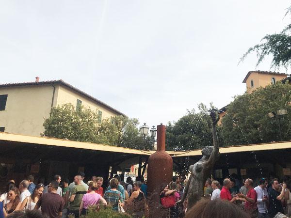 パンツァーノインキャンティワイン祭り