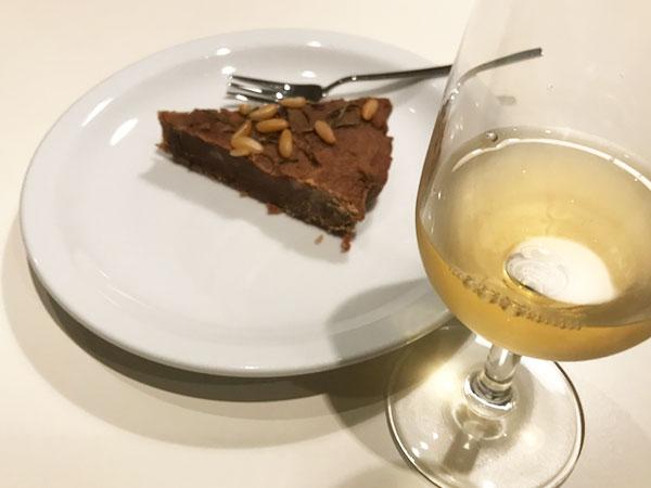 カスタニャッチョとデザートワイン