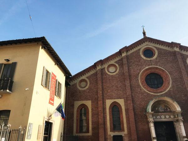 ミラノサンタマリアデッレグラツィエ教会