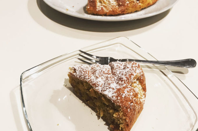 美容にいいデーツのケーキが美味!