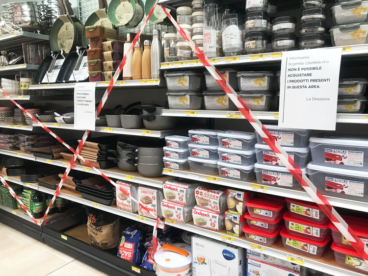 スーパー。購入禁止