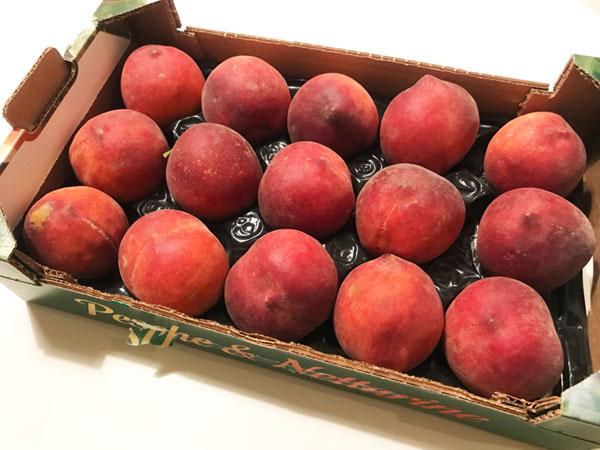 イタリアの桃