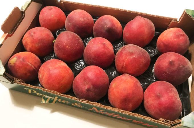 桃の季節!ジャム作り