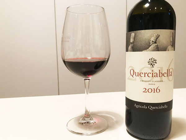 ワイン、クエルチャベッラキャンティクラシコ