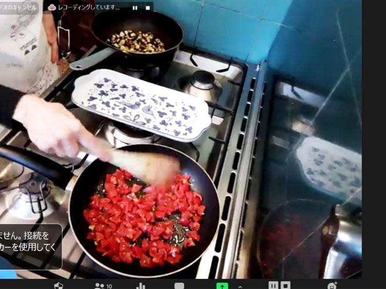 オンライン料理教室
