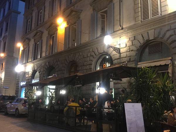 フィレンツェでアペリティーボ