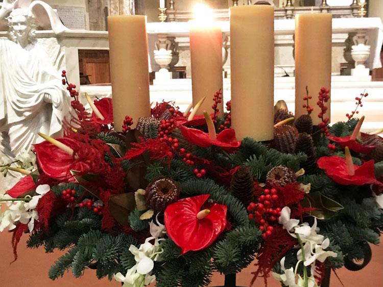 フィレンツェドゥオモのクリスマス飾り
