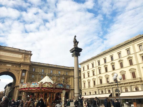 フィレンツェ共和国広場