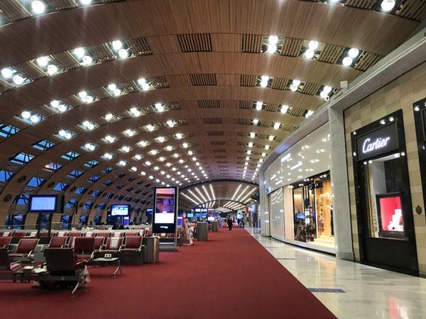 パリシャルルドゴール空港