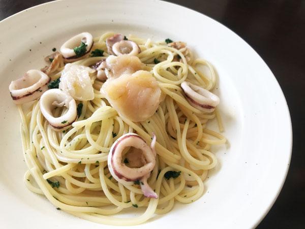 ホタテのスパゲッティー