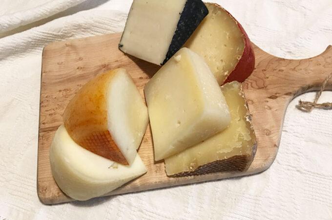 トスカーナのペコリーノチーズいろいろ