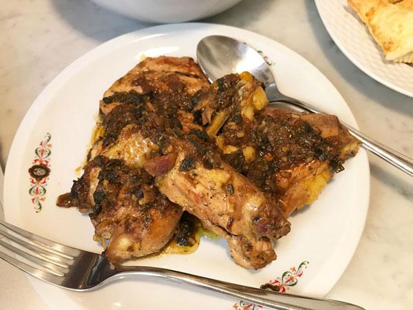 鶏肉のハーブ風味