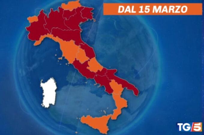 イタリア再びロックダウンに