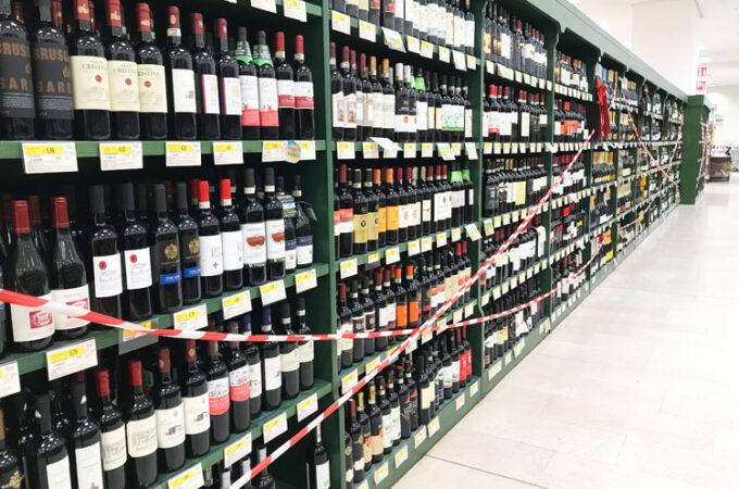 ワイン販売禁止