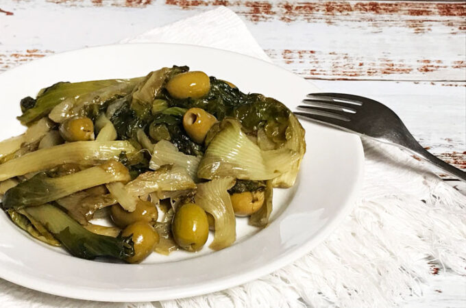 イタリアの野菜、スカローラの食べ方