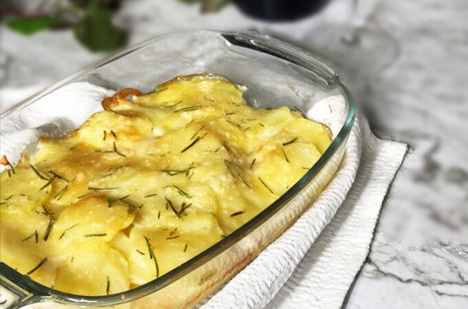 ポテトとチーズのオーブン焼き