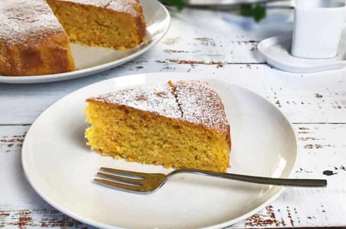 オレンジケーキと呼んでいるキャロットケーキ