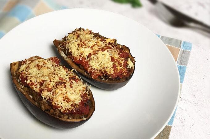 ナスの肉詰めトマトソース【レシピ】