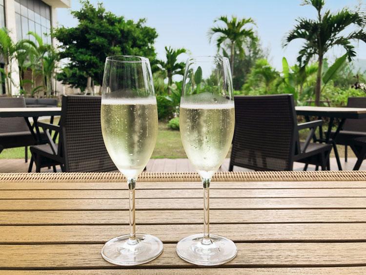 スパークリングワイン用グラス