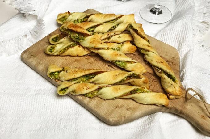 イタリアのおつまみ。ズッキーニのスティックパイ