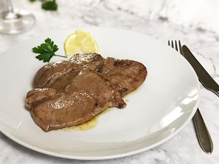 牛肉のスカロッピーネ