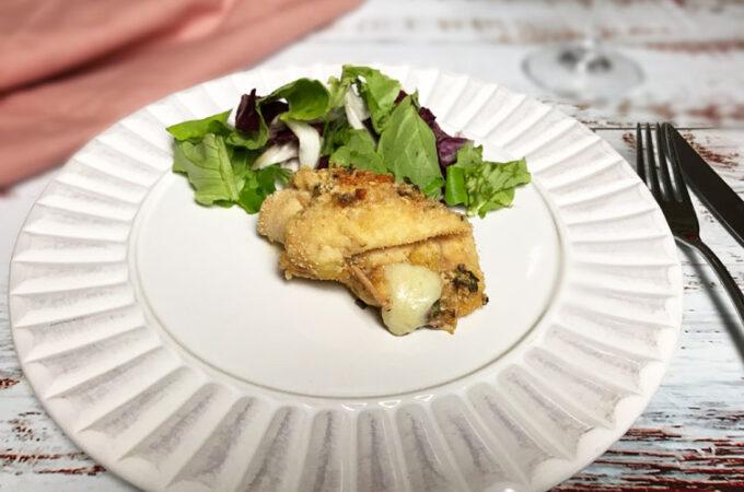 鶏肉のペコリーノチーズ巻き